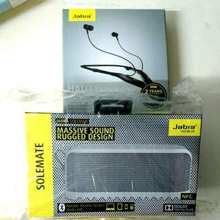 Not Opened BNIP Portable Wireless Jabra Solemate Speaker