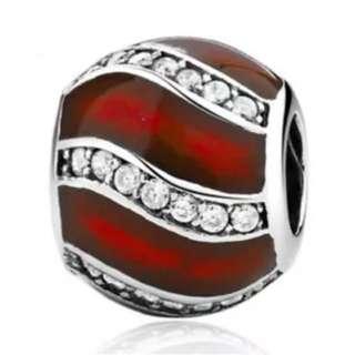 Red Bead Charm