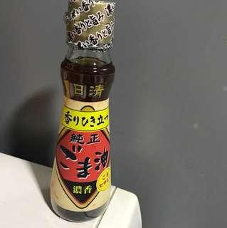 全新 nissin 日清純正麻油 seasame oil 130g