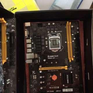 Biostar tb250btc mining motherboard