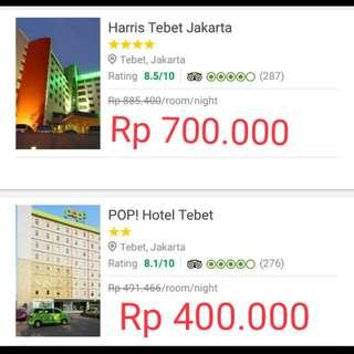 Sewa Hotel Harian
