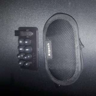 Klipsch earphone carrying case