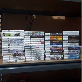 3DS and DS Games for sale
