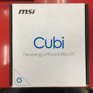 msi微星Cubi-033XTW-3205U迷你電腦(無系統)