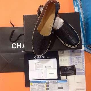 Proof :) Authentic Chanel Espadrilles
