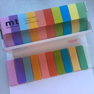 MT washi tape samples