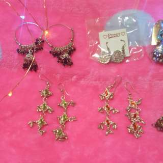 Earrings everything at $3