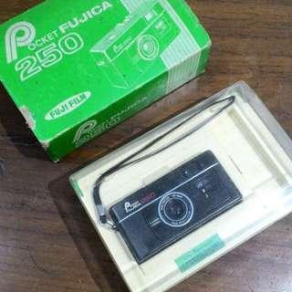 Kamera Analog Film Fujica Pocket Like New with Box #jualbarangjadul