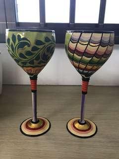 Copper wine cup