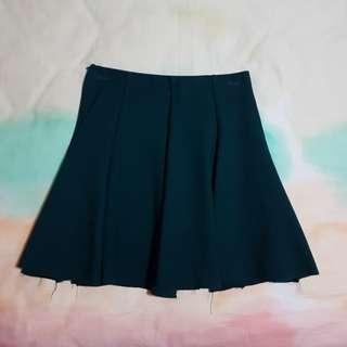 Teal Green Skater Skirt