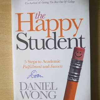 The Happy Student by Daniel Wong Signed