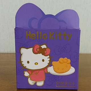 Hello Kitty collectable taiwan cake box