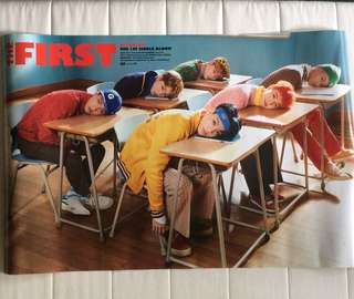 NCT Dream Official Poster The First Single Album