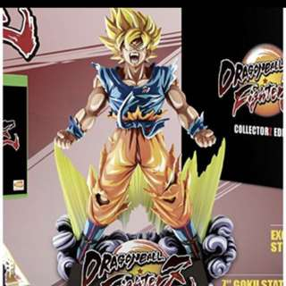 PS4 Dragonball Z Fighter Collector Edition Special Colour Shading Goku Figure