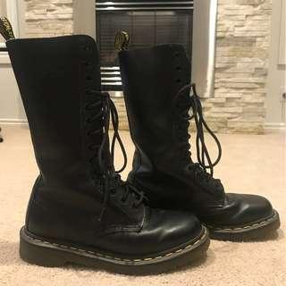 Dr. Martens mid calf boots