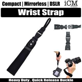 Compact Mirror DSLR Camera Hand Wrist Strap For Canon Nikon Olympus Pentax Panasonic Sony Leica