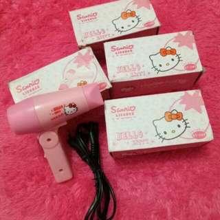 Hair Dryer Mini Sanrio Hello Kitty