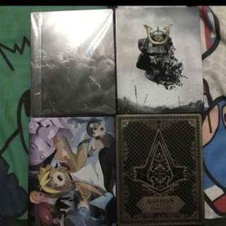 PS4 Steelbook Set