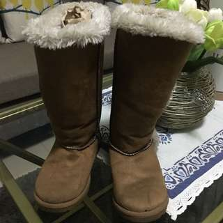 Auth Airwalk Knee Boots