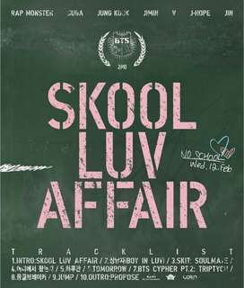 (Pre-order) BTS SKOOL LUV AFFAIR Album