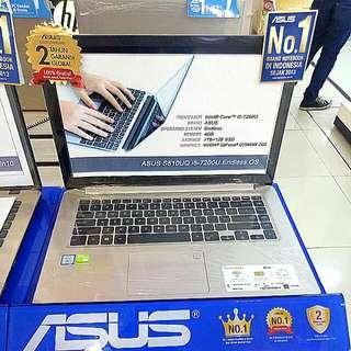 Kredit ASUS S510UQ-BQ439.i5 Tanpa kartu Kredit