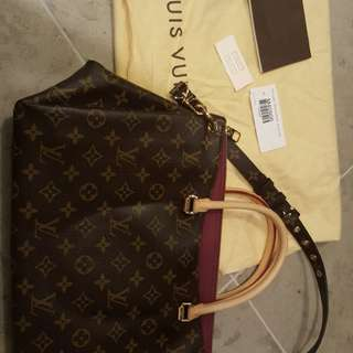 Louis Vuitton Pallas Monogram Aurope 2-way bag