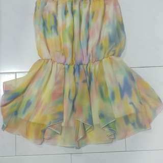 Colourful Chiffon Tops