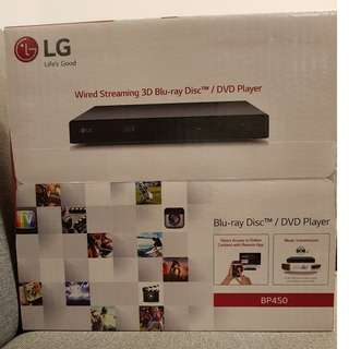 LG BP450 HD 3D Bluray player