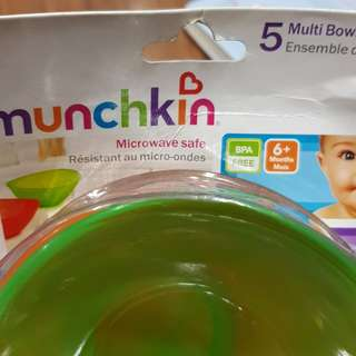Two plastic bowl from munchkin.