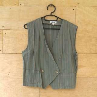 Striped Retro Vest