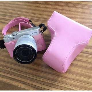 Camera leather case