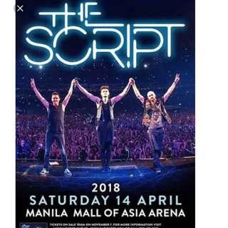 The script concert 2018 manila philippines