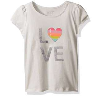 SALE 33% Off -2 and 4 years BNWT The children's place girls Tee (white color)