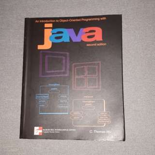 IT book - An Introduction to Object Oriented Programming