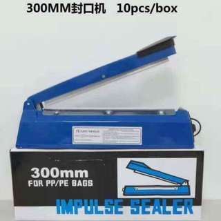Impulse Plastic Sealer 300mm