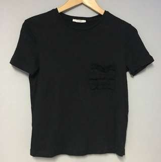 Zara Basic Shirt Black with Pocket