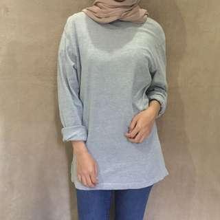 Plain turtleneck shirt