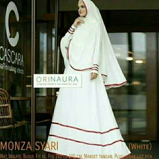 TERBARU-DRESS MOUZAA SYAR'I-GAMIS FASHION MUSLIM