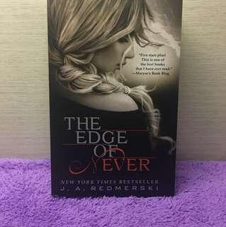 THE EDGE OF NEVER (novel)
