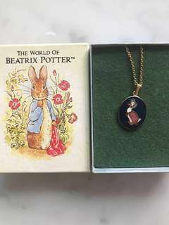 Peter Rabbit Beatrix Potter (chain n pendant)