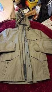 新,Timberland 2 in 1 防水可拆式外套