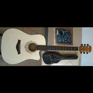 Guitar Acoustic Electric 41Inch #180CE Spruce