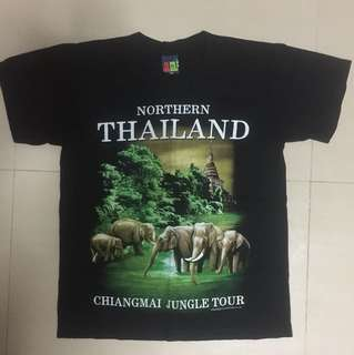 Brand New Northern Thailand 🇹🇭 Chiang Mai Jungle Tour Tube T-Shirt