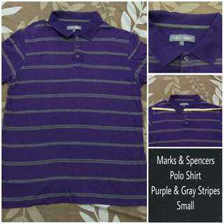👕 Authentic Marks & Spencers Polo Shirt