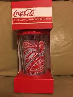 可口可樂雙層杯