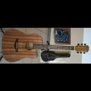 Guitar Acoustic Electric Mentreel 41Inch 160CE