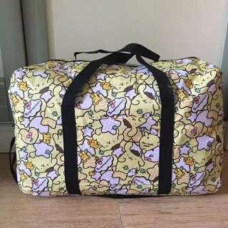 布甸狗摺疊旅行袋