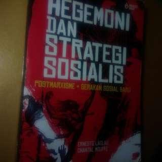 Buku hegemoni dan strategi sosialis