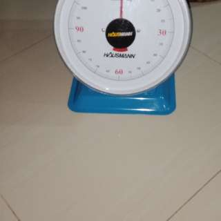 Weighing scale intrument