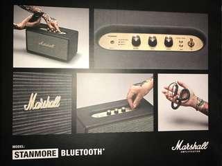 Marshall brand new speaker